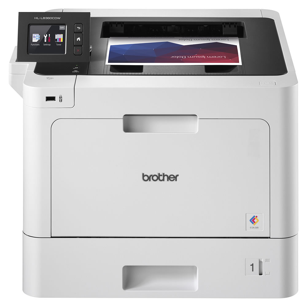 Impressora Laser Colorida Profissional HL-L8360CDW Brother 24800