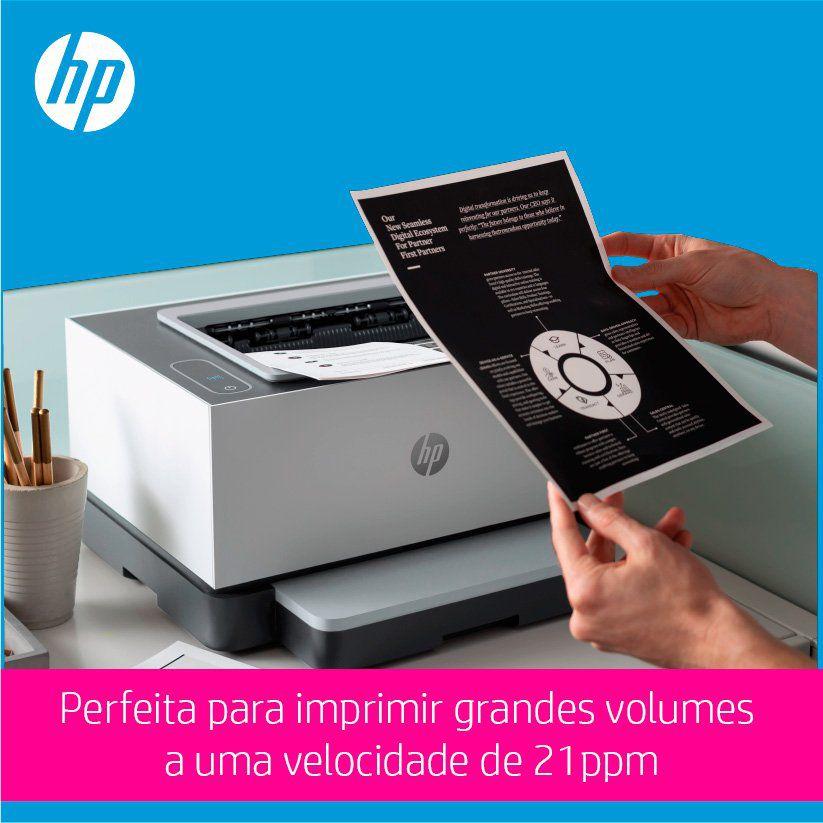 Impressora Tanque de Toner Neverstop 1000A HP 27546