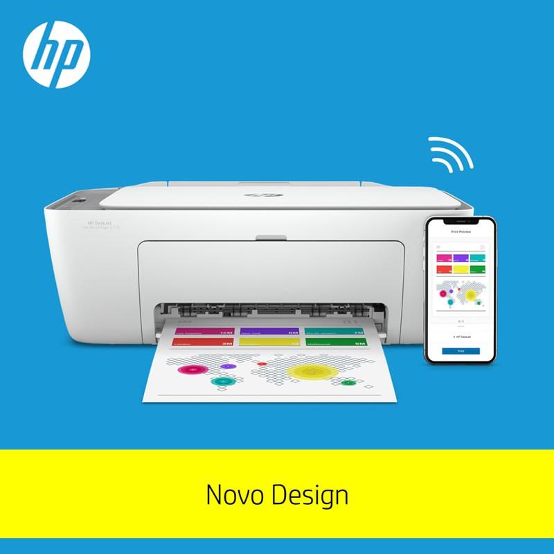 Impressora Multifuncional Deskjet 2776 7FR20A HP 29221