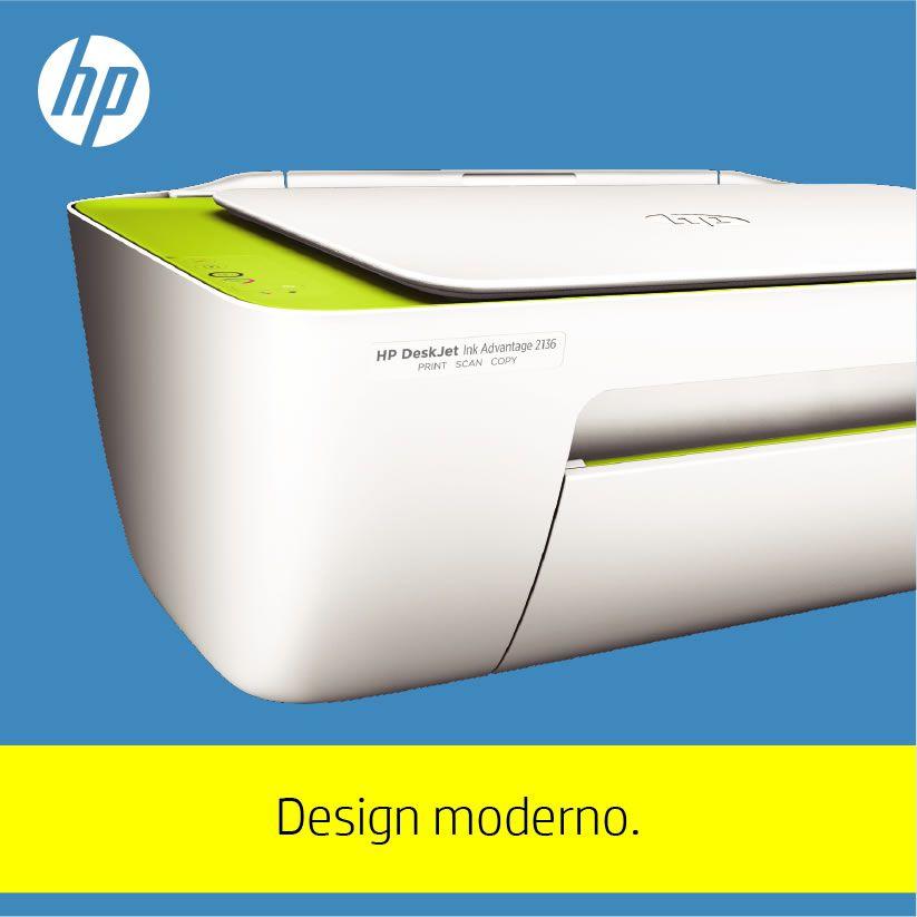 Impressora Multifuncional Deskjet Ink Advantage 2136 F5S30A HP 22413