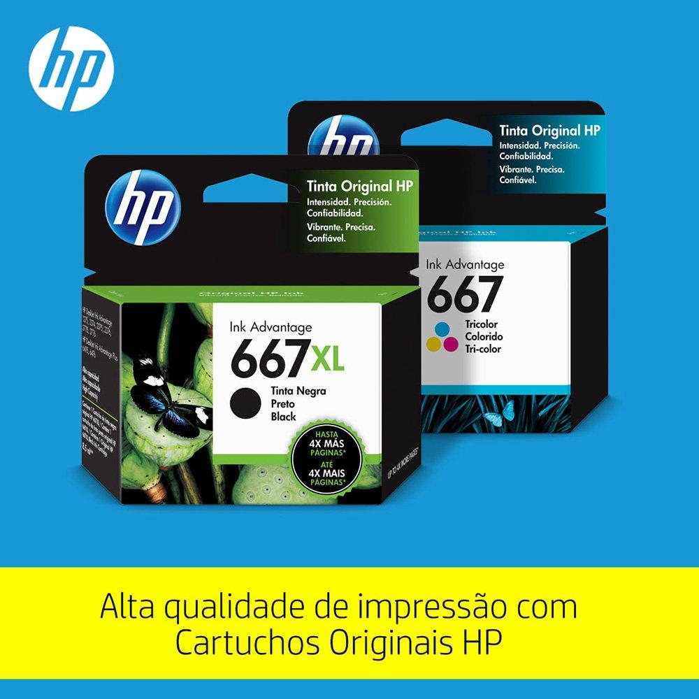 Impressora Multifuncional Deskjet Ink Advantage 2376 7WQ02A HP 29309
