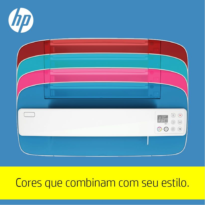 Impressora Multifuncional Deskjet Ink Advantage 3776 J9V88A HP 23329