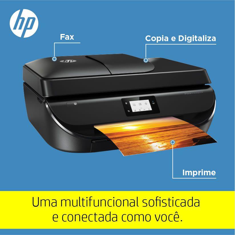 Impressora Multifuncional Deskjet Ink Advantage 5276 M2U77A HP 25815