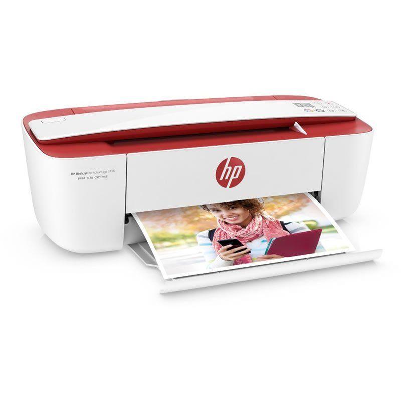 Impressora Multifuncional Deskjet Ink Advantage Vermelha 3786 HP 24105