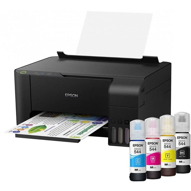6e0adb6e3bba7 Impressora Multifuncional Epson EcoTank L3110 26503 - PORT - Papelaria