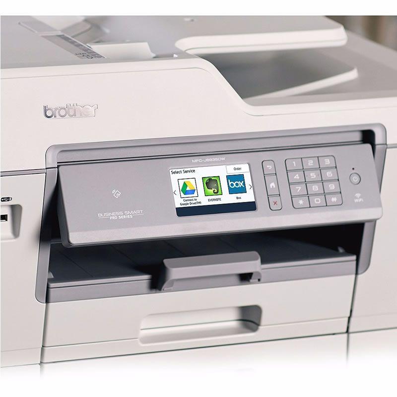 Impressora Multifuncional Jato de Tinta A3 MFC-J6935DW Brother 24799