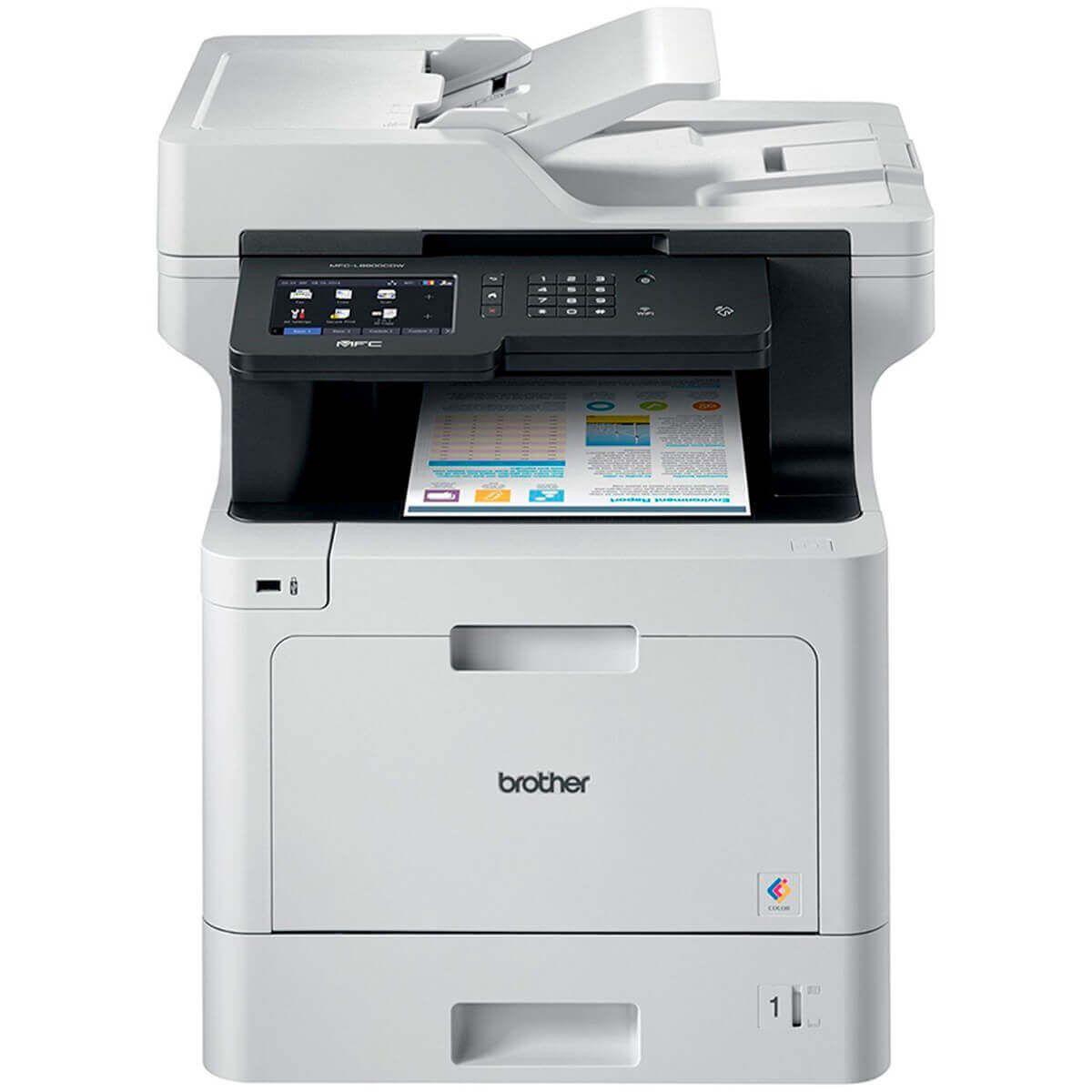Impressora Multifuncional Laser Color MFC-L8900CDW Brother 27705