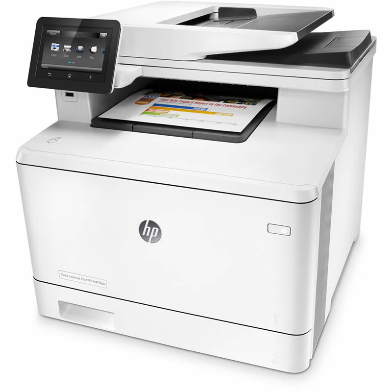 Impressora Multifuncional Laser Color Pro M477FDW CF379A HP 22511