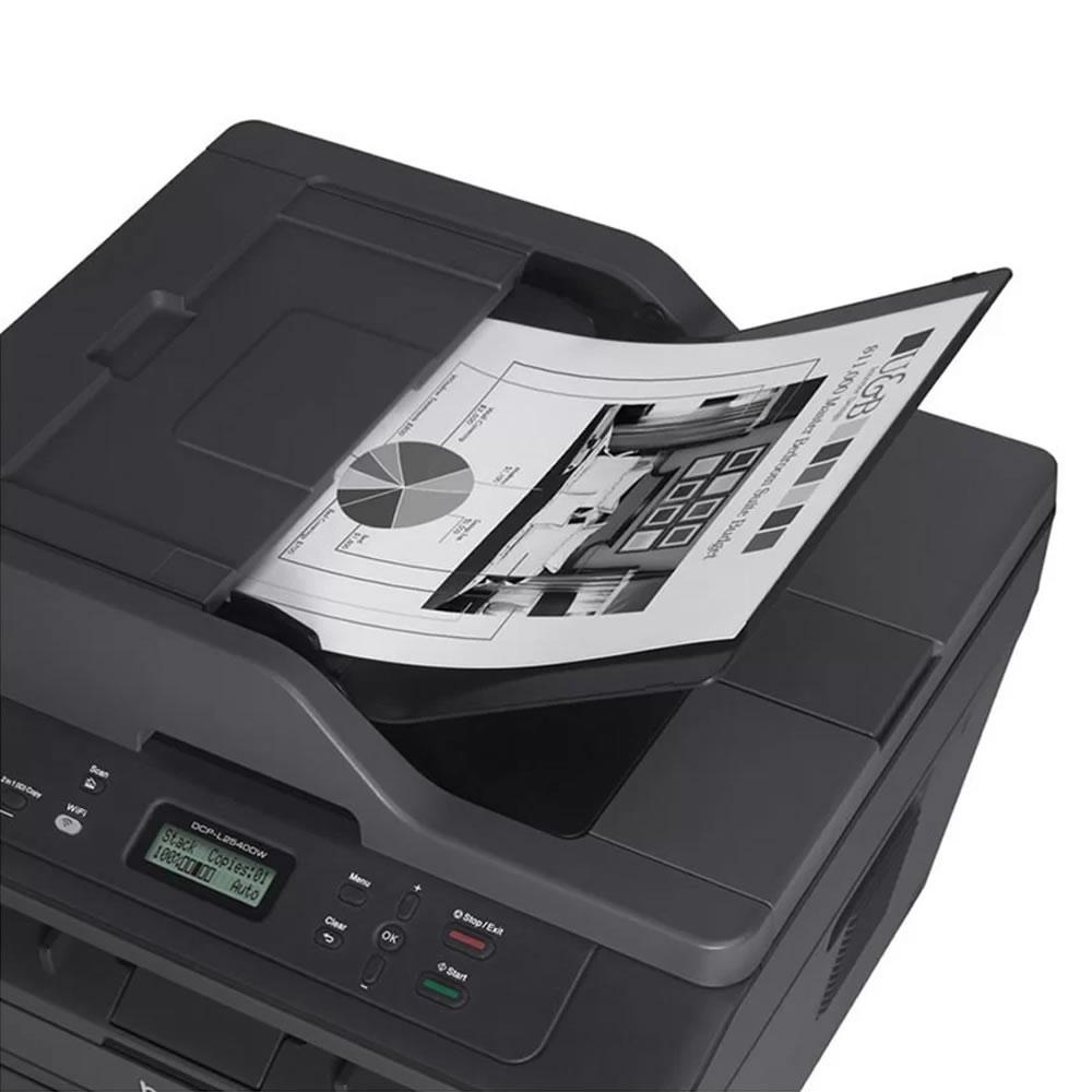 Impressora Multifuncional Laser Mono DCP-L2540DW Brother 21800