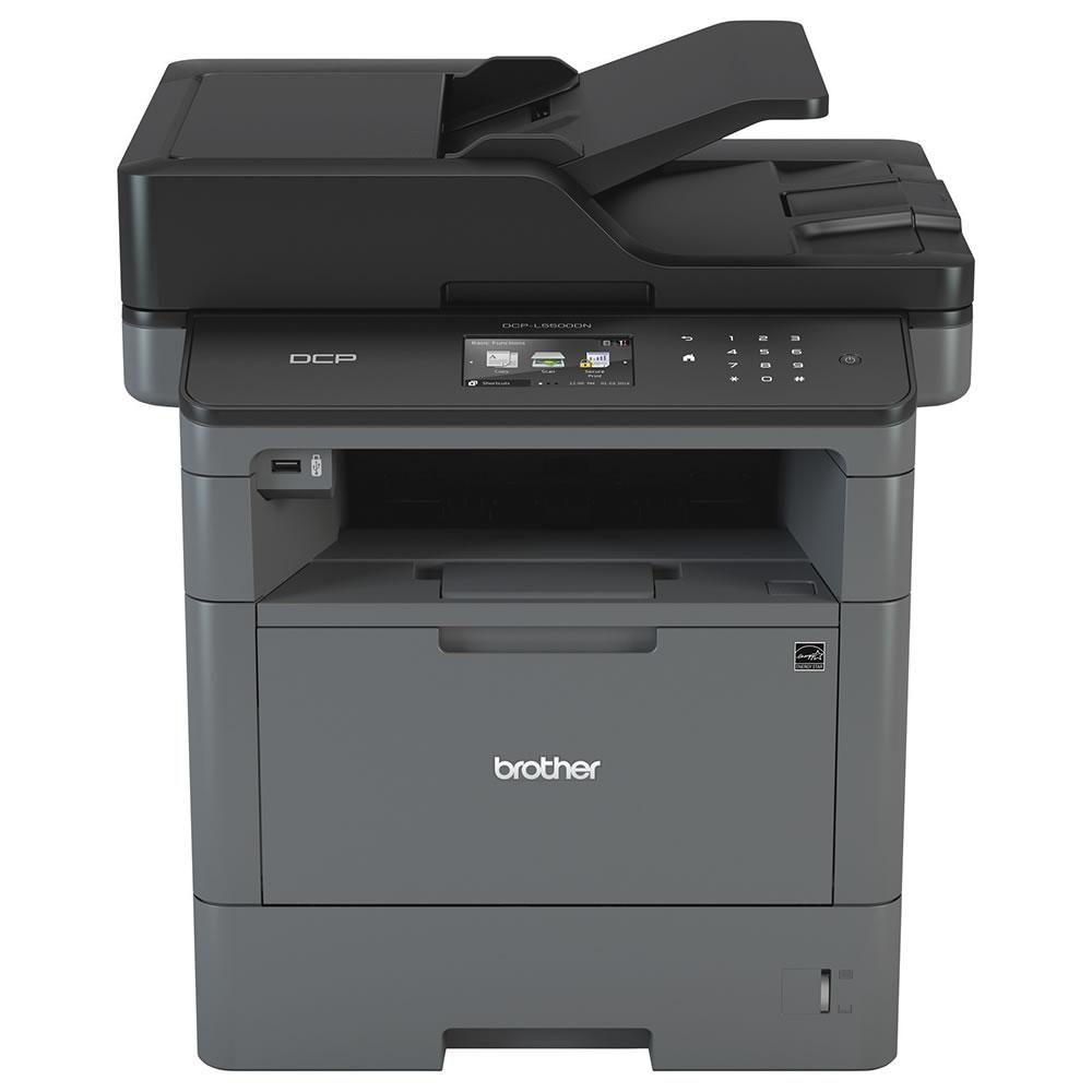Impressora Multifuncional Laser Mono DCP-L5502DN Brother 24324