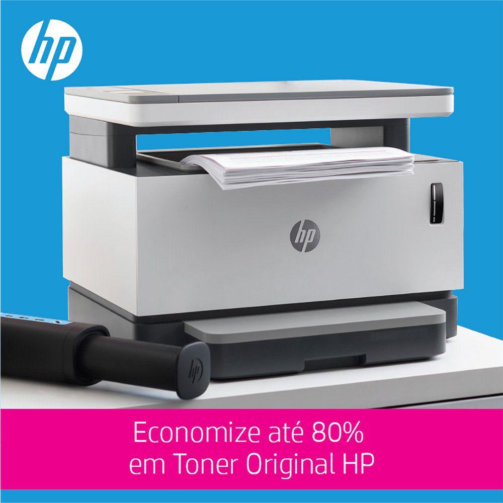 Multifuncional Tanque de Toner Conectada Neverstop HP 1200W 27547