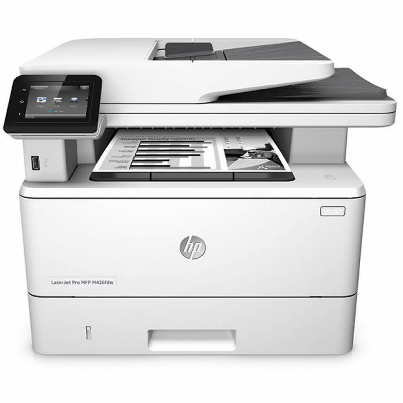 Impressora Multifuncional Laser Mono Pro M426FDW F6W15A HP 22515