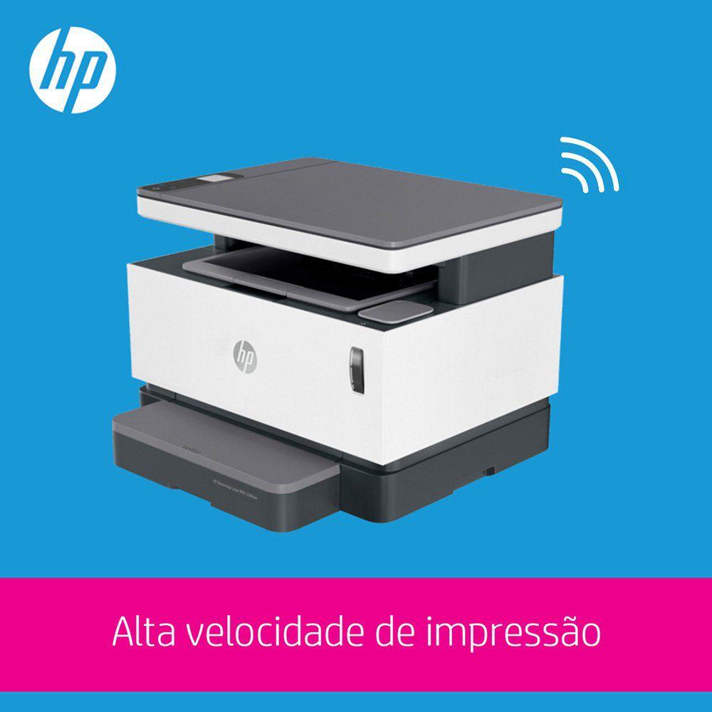 Impressora Multifuncional Neverstop Laser 1200NW 5HG85A HP 29343