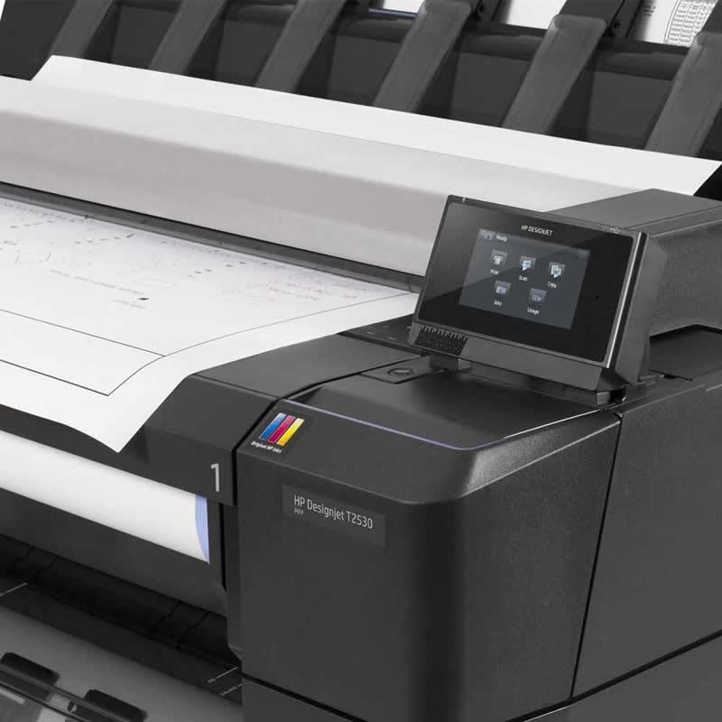 Impressora Multifuncional Plotter HP Designjet T2530 36 Polegadas L2Y26A 22856
