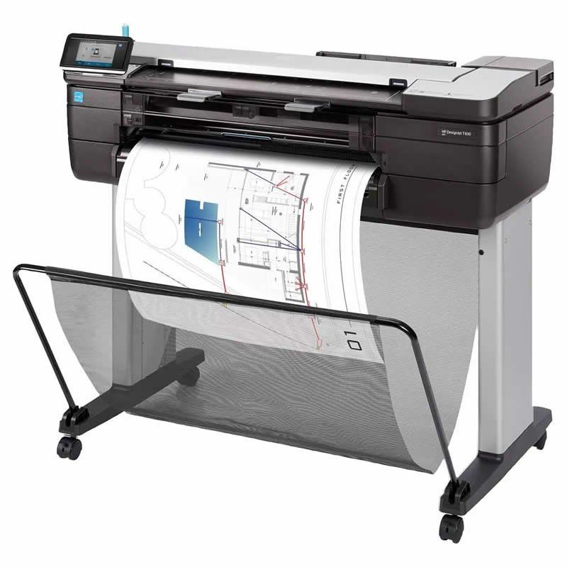 Impressora Multifuncional Plotter HP Designjet T830 24 Polegadas F9A28A 25908