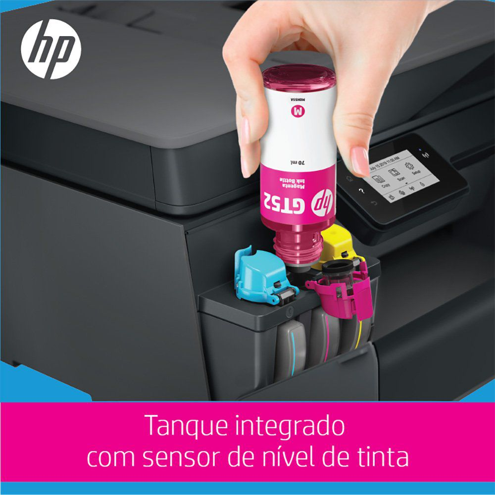 Impressora Multifuncional Smart Tanque de Tinta Wireless 532 (5HX16A) HP 28015