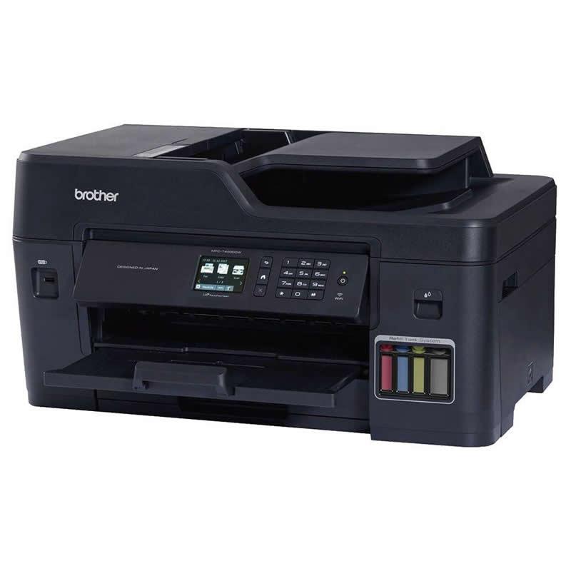 Impressora Multifuncional Tanque de Tinta A3 MFC-T4500DW Brother 27538