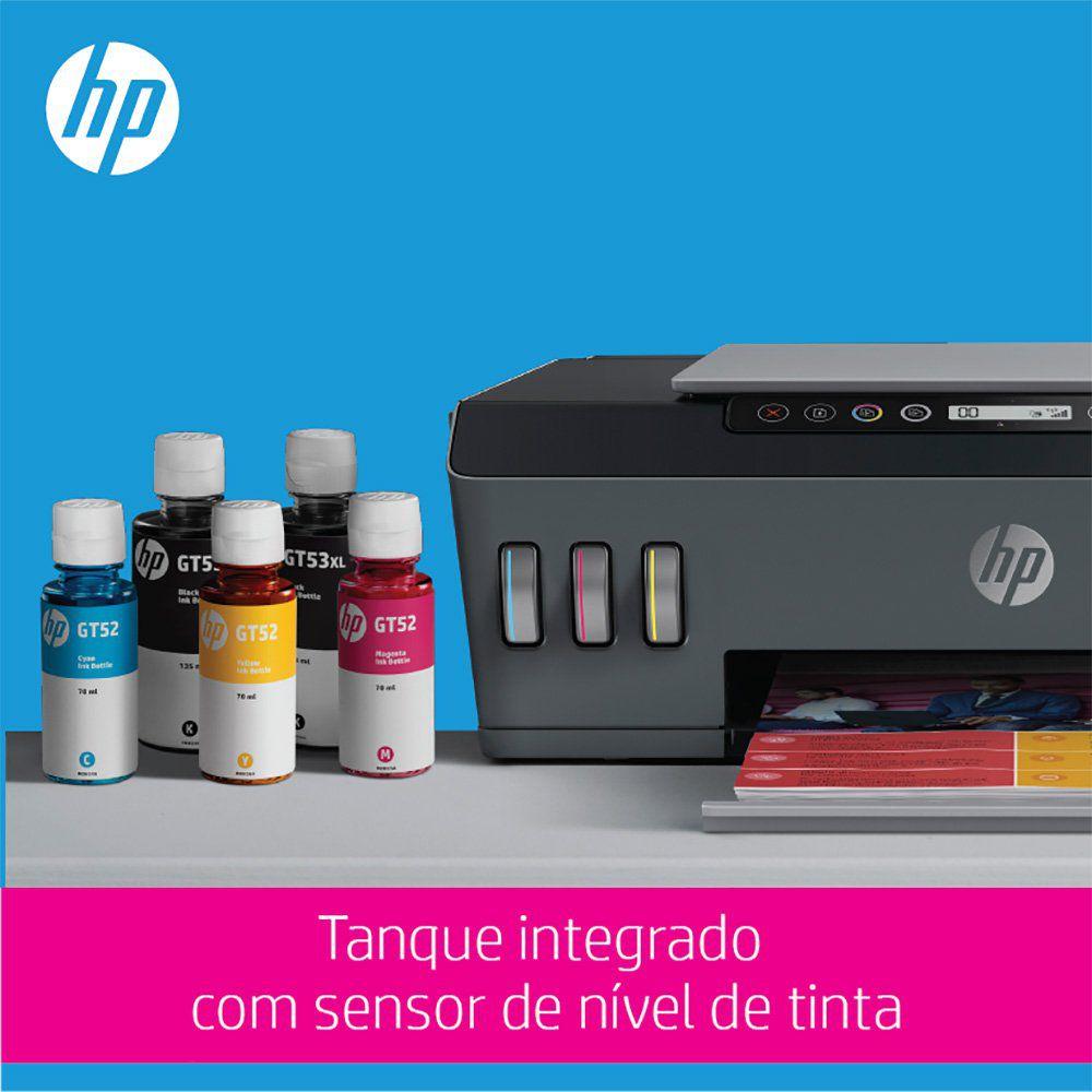 Impressora Multifuncional Tanque de Tinta Wireless 517 (1TJ10A) HP 27550