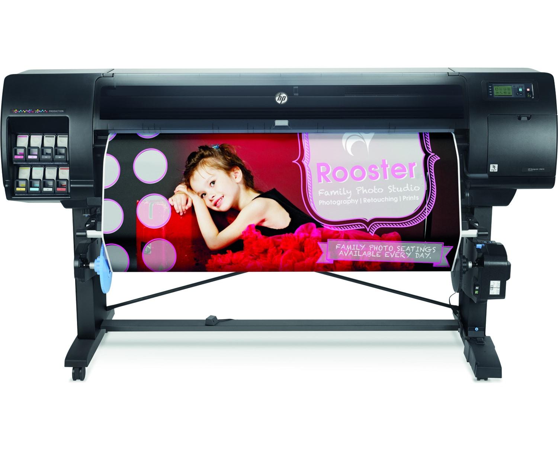 Impressora Plotter Designjet Z6810 60 Polegadas 2Qu14A HP 26337