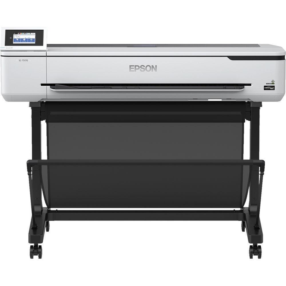 Plotter Epson Surecolor T5170 Jato de Tinta Colorida Usb, Ethernet e Wi-fi Bivolt