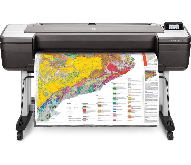 Impressora Plotter Designjet T1700DR 44 Polegadas 1VD88A HP 26095