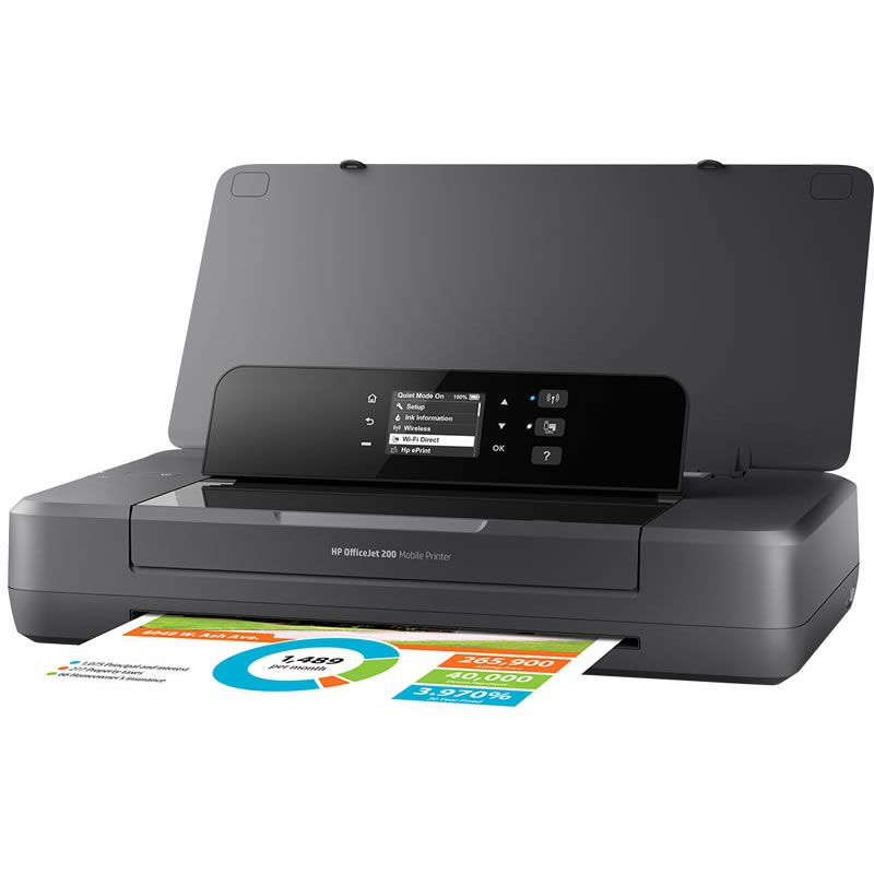 Impressora Portátil OfficeJet OJ200 CZ993A HP 25699