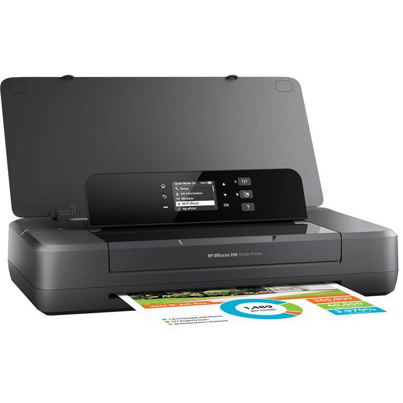 Impressora Portátil OfficeJet 200 CZ993A HP 25699