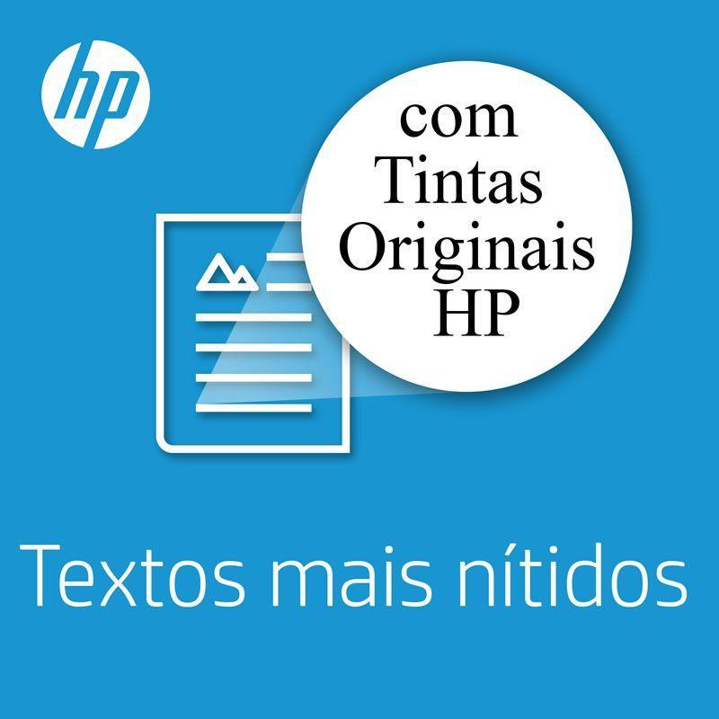 Kit Cartucho HP 664 Preto (2 Un.) + Cartucho HP 664 Colorido (1 Un.) Original