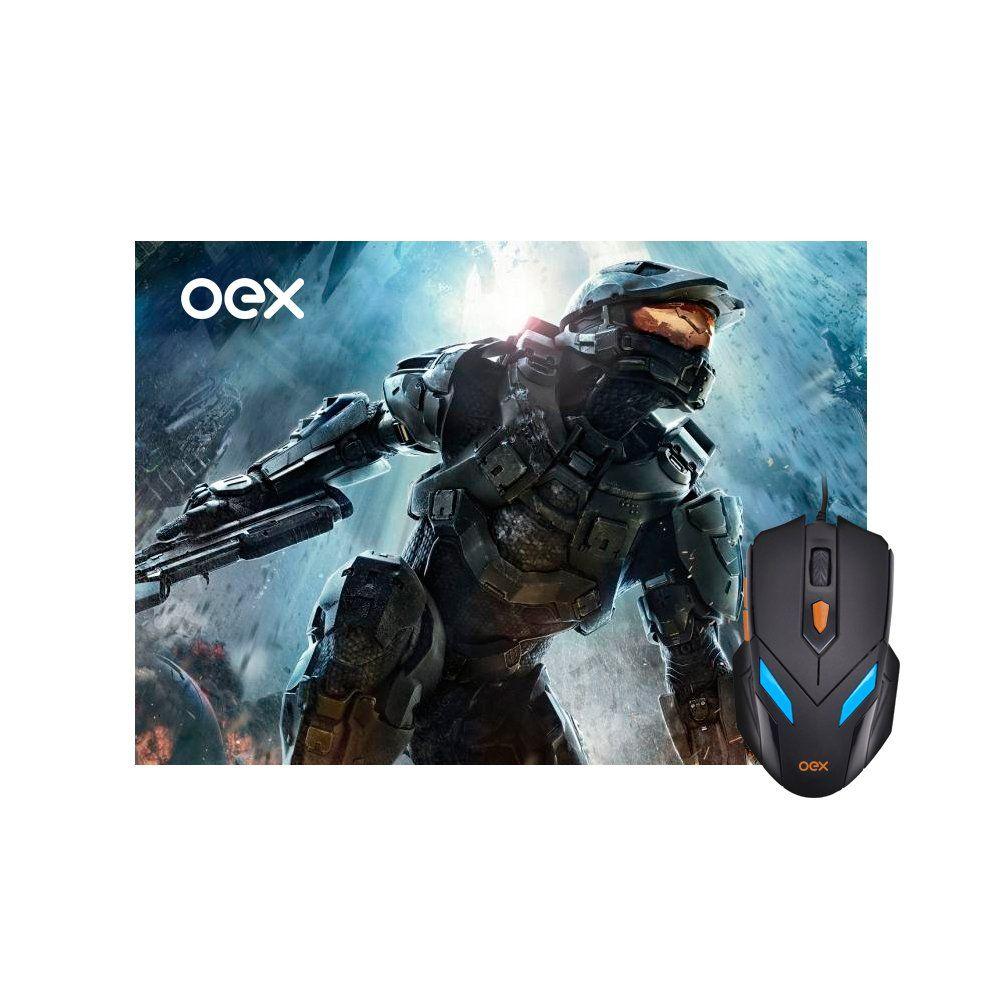 Kit Mouse USB Pad Mouse War Mc100 497701 Oex 25472