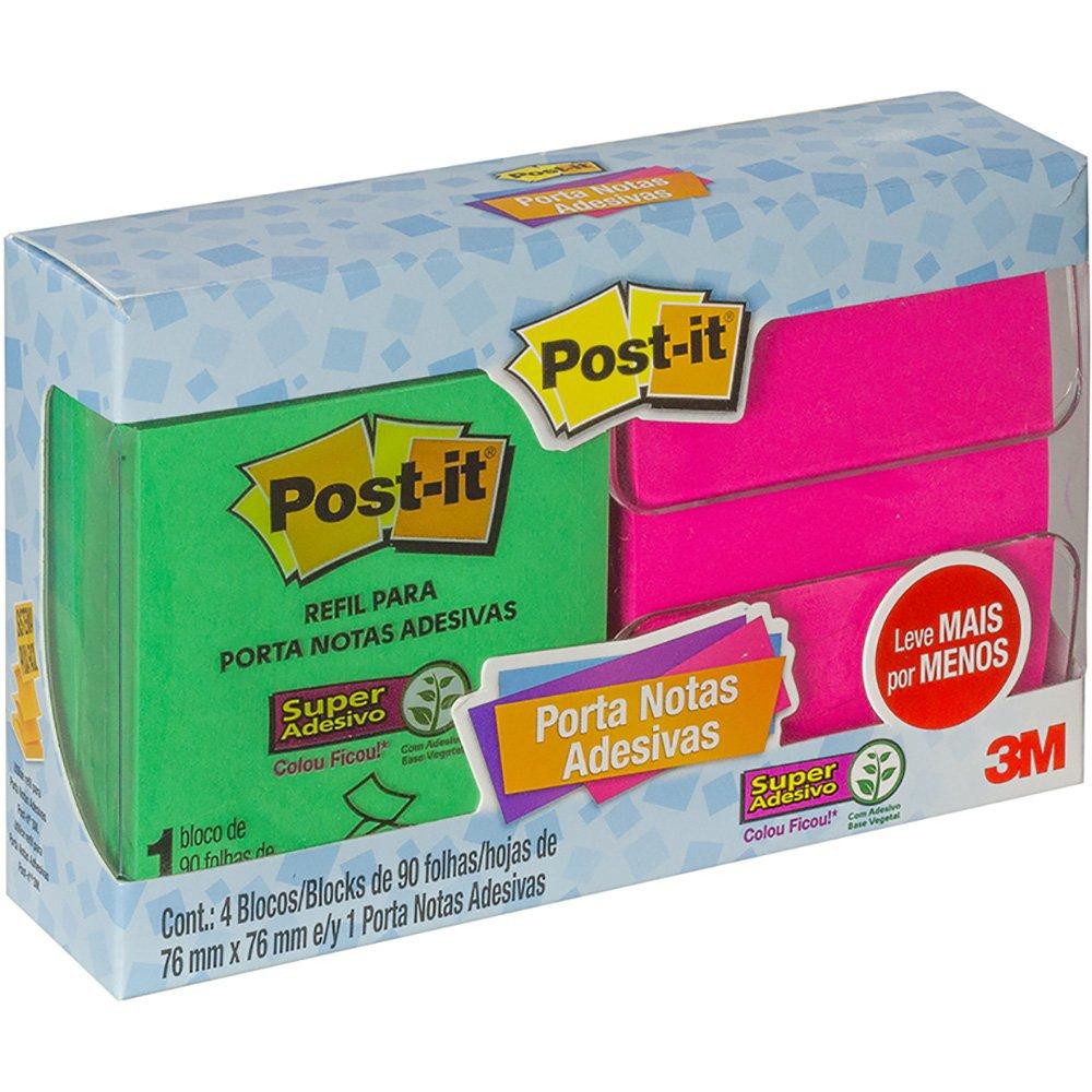 Kit Pop Up 3M Cmo 4 Post-It + Dispensador 23200