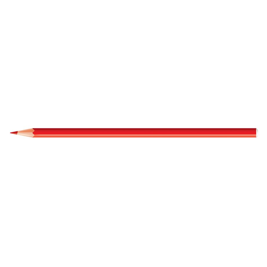 Lápis de Cor 12 Cores Plastic 44.8000 CiS 18406