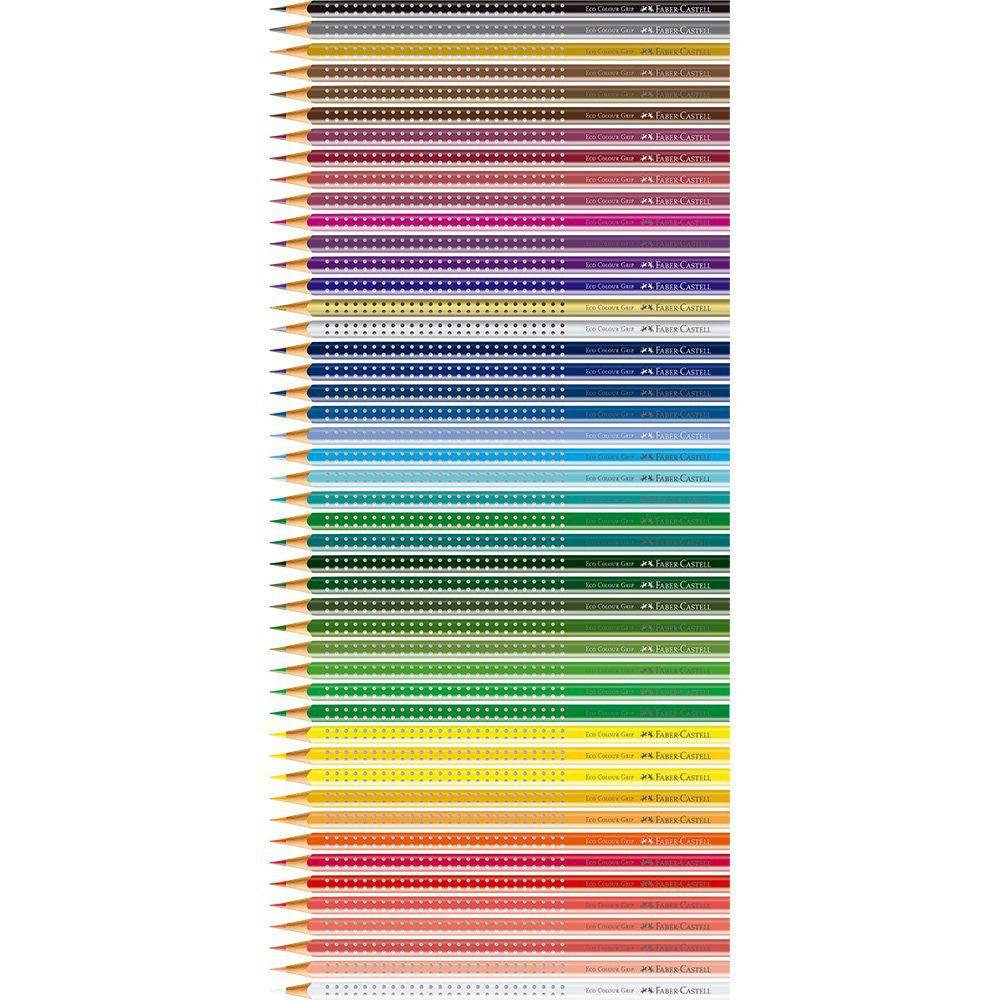Lapis de Cor Faber-Castell 48 Cores Grip Lata 121048Ltn 25033