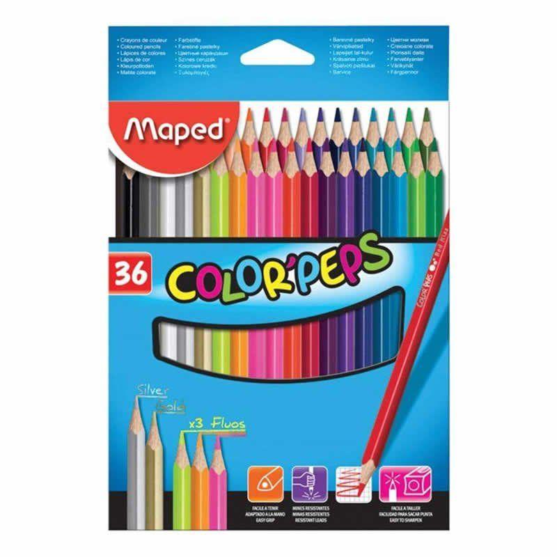 Lápis de Cor Maped 36 Cores 832017Zv 25663