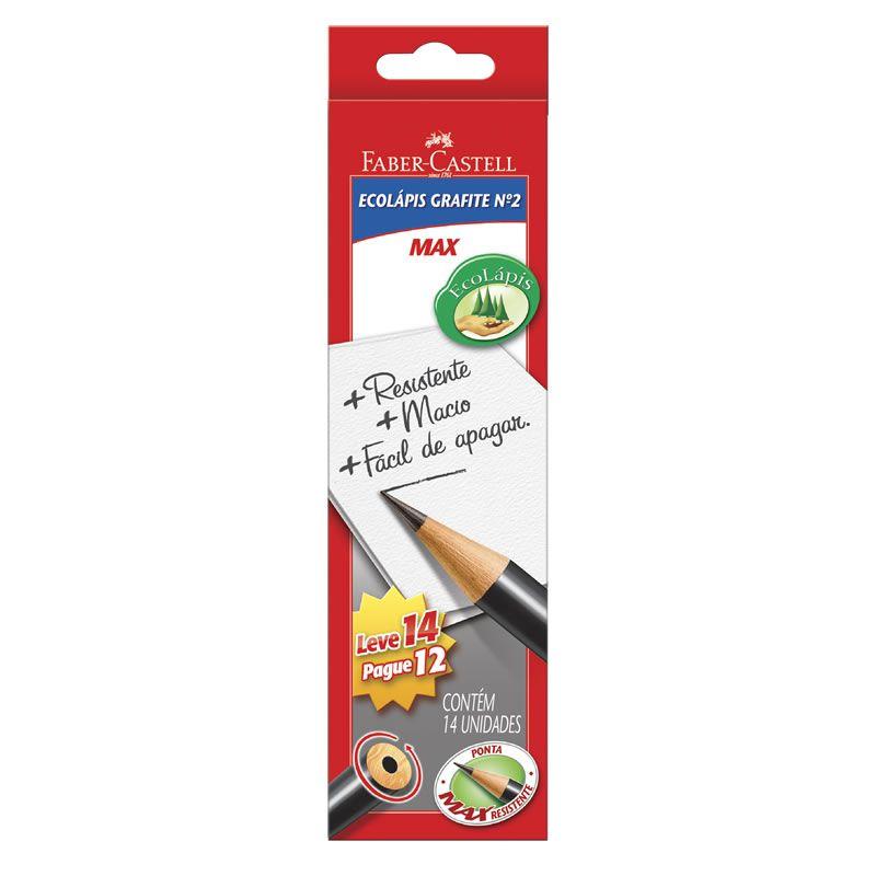 Lápis Grafite Faber-Castell 1205M14 Caixa Com 14 Un  05580