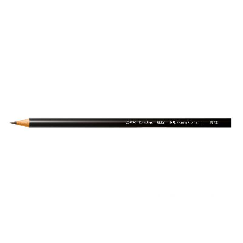 Lápis Gráfite Max Nº 2 4 Un 1205 Faber-Castell 01851