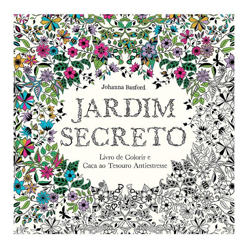 Livro de Colorir Jardim Secreto Ed. Sextante 21957