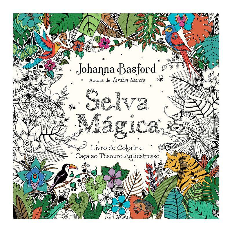 Livro de Colorir Selva Mágica Ed. Sextante 29213
