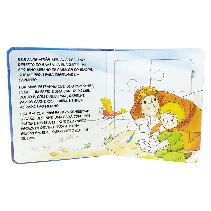 Livro Pequeno Principe Lenticular Todo Livro 1148788 08814