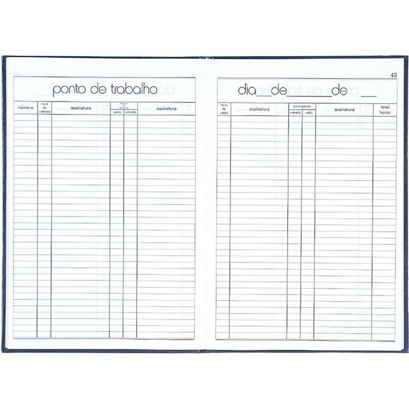 Livro Ponto 4 Assinaturas com 100 Fls 120847 Tilibra 04628