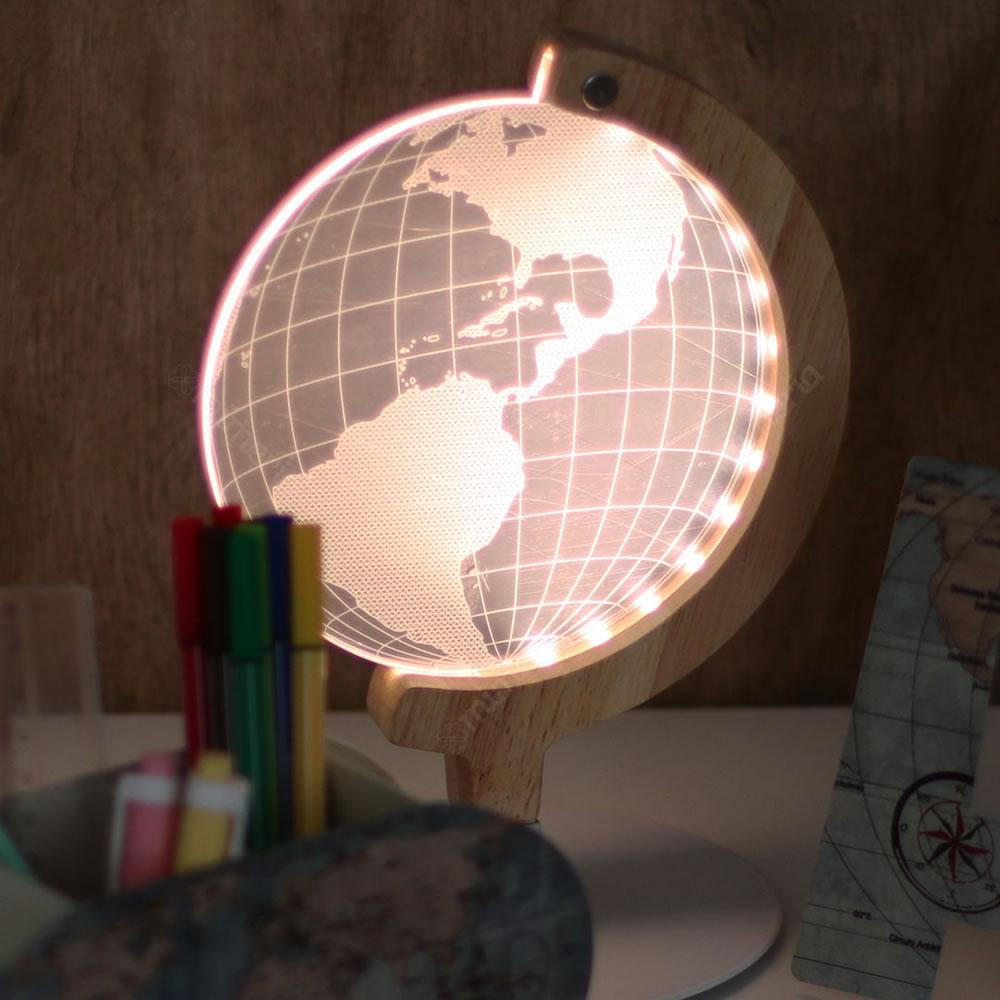 Luminaria LED de Mesa UP4YOU Globo 3D Lu18031Up 29297