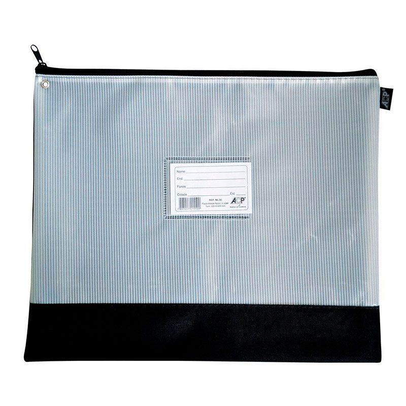 Malote Com Zíper ACP Em Nylon (320X400) Un ML-30 17602