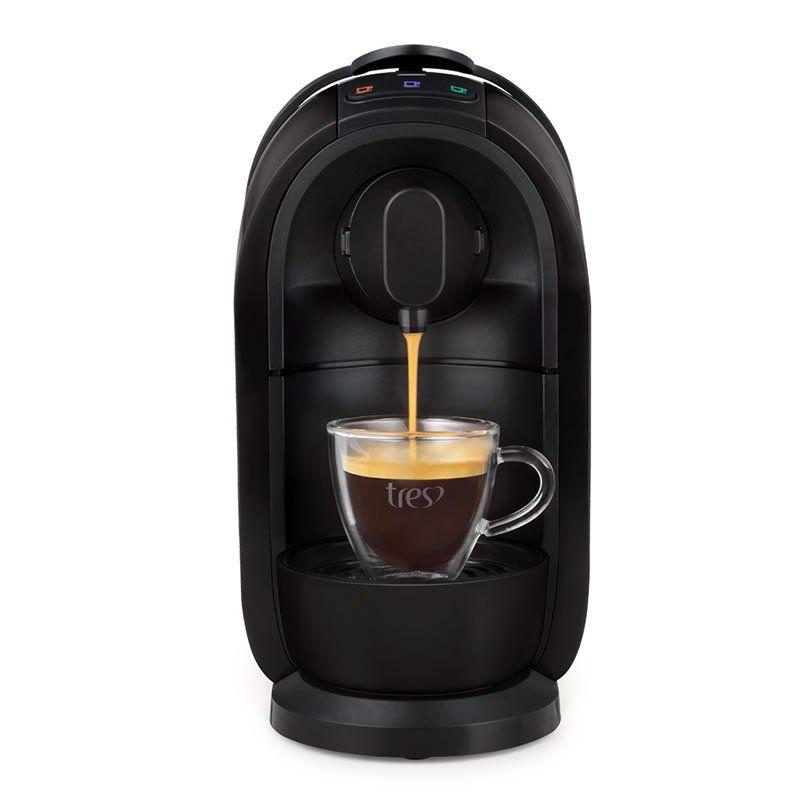 Máquina de Café Expresso TRES Mimo Preta 220V 27418