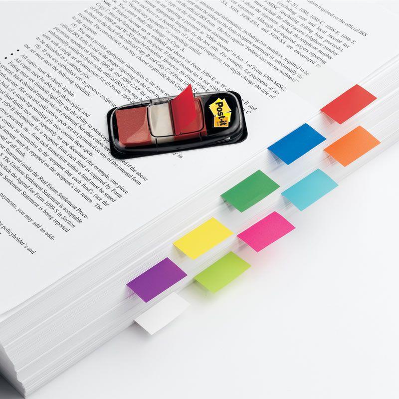 Marcador de Página Adesivo Post-it® Flags Pink 25,4 mm x 43,2 mm - 100 folhas 16789