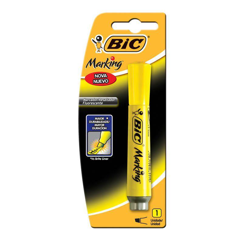Marcador de Texto BIC Marking Amarelo 904196 21076