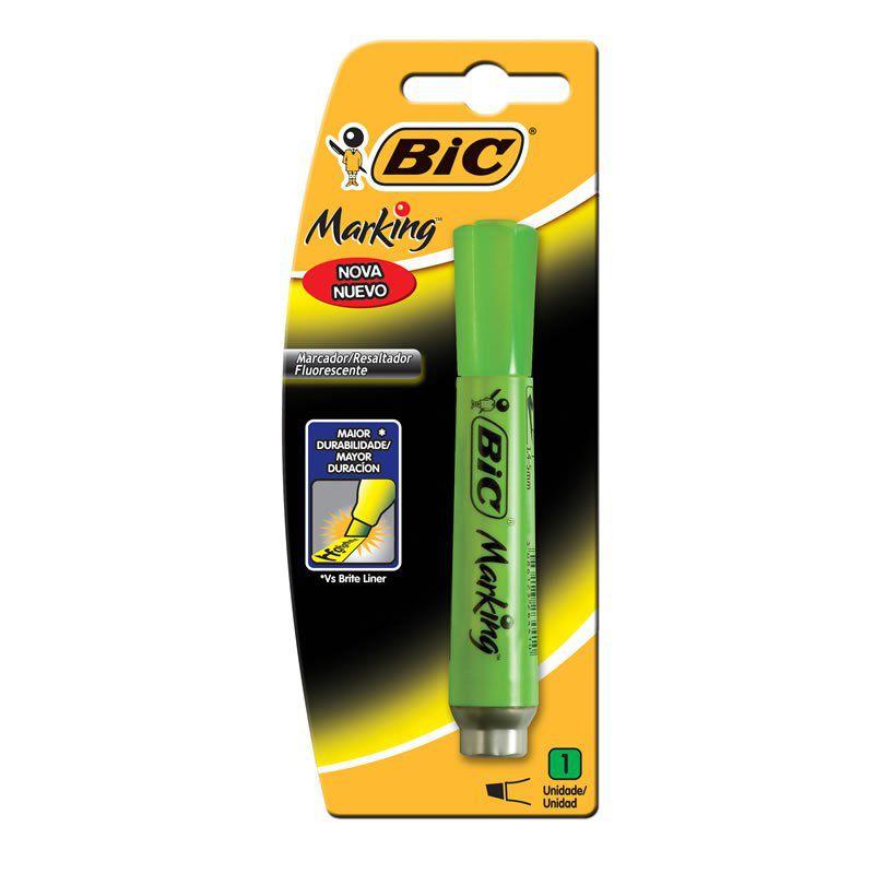 Marcador de Texto Bic Marking Verde  904199 21078