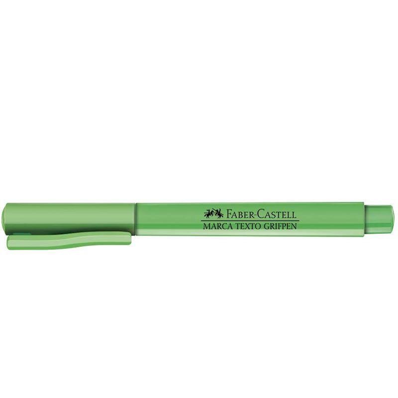 Marcador de Texto Faber-Castell Grifpen Verde 12 Un. Mt/Vdzf 19633