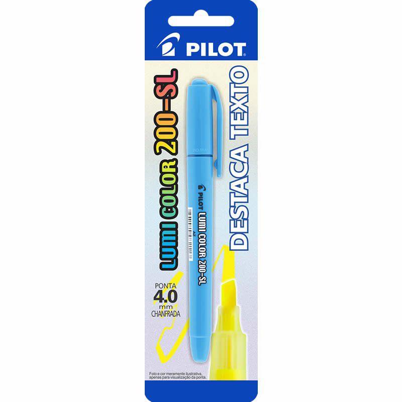 Marcador de Texto Lumi Color Azul 200-SL Pilot 12394