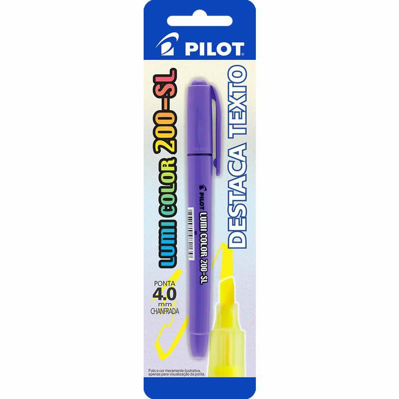 Marcador de Texto Lumi Color Violeta 200-SL Pilot 14986