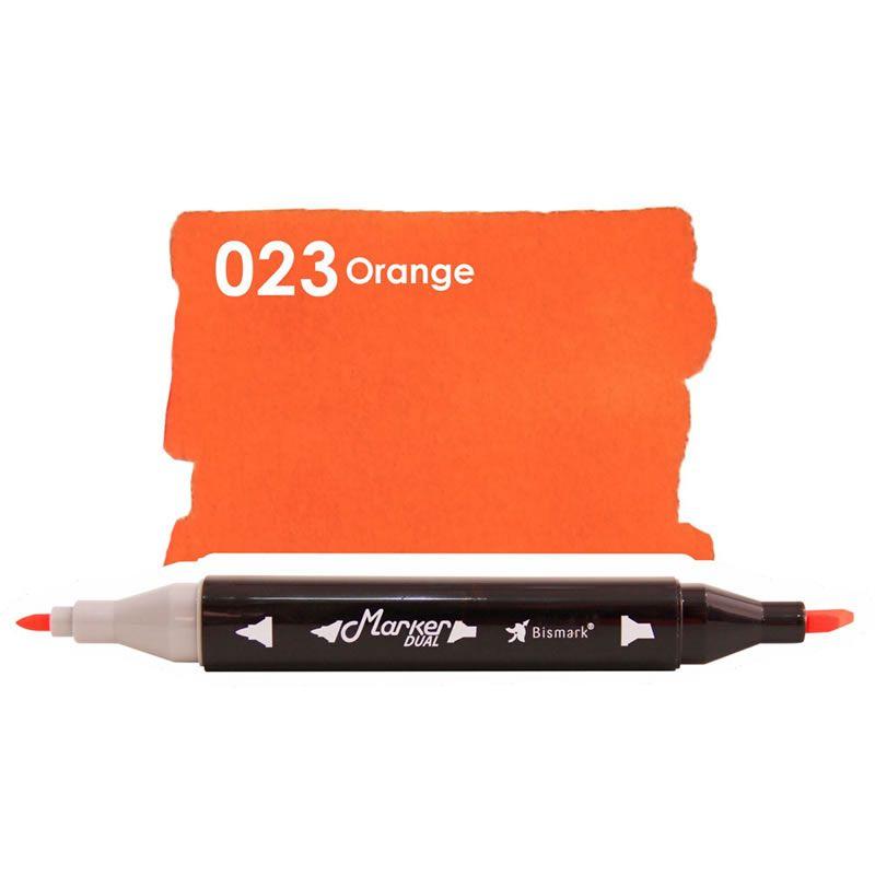 Marcador Permanente Maker Dual Bismark Orange PK0206D 023 27057