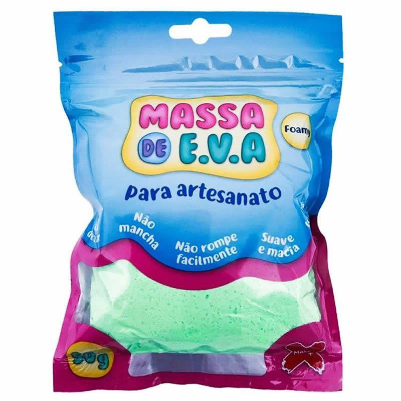Massinha de E.V.A Make+ Verde Claro 50G 13012 26780